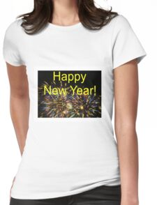 Happy New Year!!!!! Womens Fitted T-Shirt