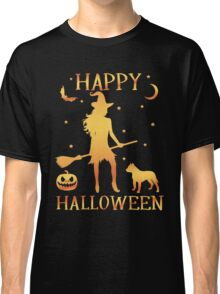 Happy Halloween, Funny Halloween Custom Gift For Men Or Women Classic T-Shirt