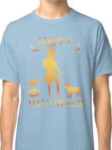 Happy Halloween, Funny Halloween Custom Gift For Men Or Women Classic T-Shirt