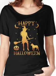 Happy Halloween, Funny Halloween Custom Gift For Men Or Women Women's Relaxed Fit T-Shirt
