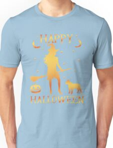 Happy Halloween, Funny Halloween Custom Gift For Men Or Women Unisex T-Shirt