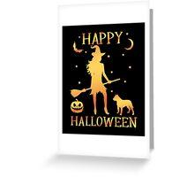 Happy Halloween, Funny Halloween Custom Gift For Men Or Women Greeting Card
