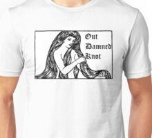 Out Damned Knot-Lady Godiva/Lady MacBeth Unisex T-Shirt