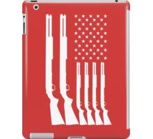 US American Flag HUNTING GUNS iPad Case/Skin