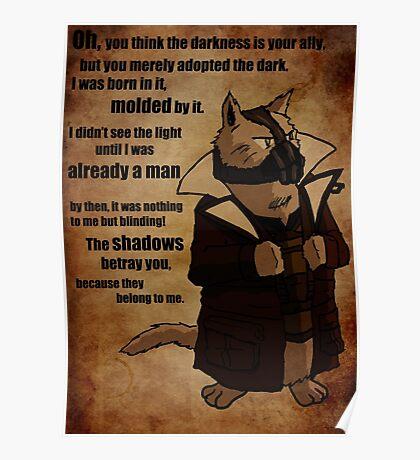 Bane's Cat Rises! Poster