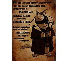 Bane's Cat Rises! Photographic Print