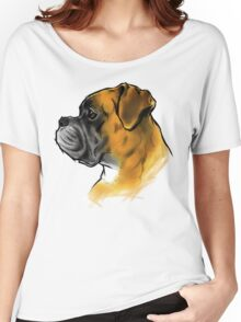 DOG BOXER Women's Relaxed Fit T-Shirt