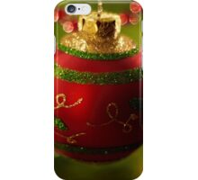 Christmas Bauble iPhone Case/Skin