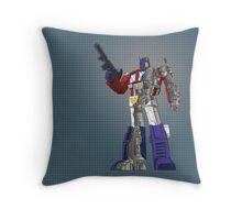 Optimus Prime - Écorché Throw Pillow