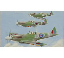 Spitfire MK.X11's Photographic Print