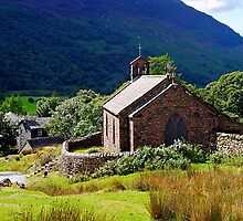 Church of St James - Buttermere by Photography  by Mathilde