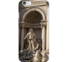 Toss a Coin to Return - Trevi Fountain, Rome, Italy iPhone Case/Skin