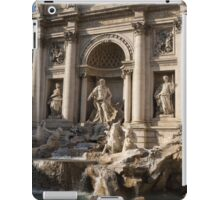 Toss a Coin to Return - Trevi Fountain, Rome, Italy iPad Case/Skin