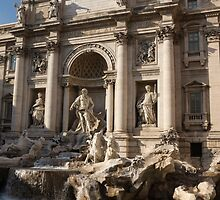 Toss a Coin to Return - Trevi Fountain, Rome, Italy by Georgia Mizuleva
