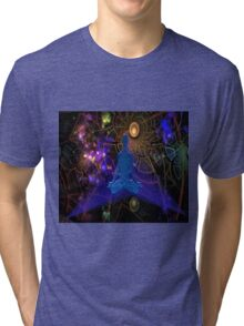 Astral Travel (part 3, One with the Universe) Tri-blend T-Shirt