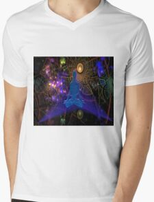 Astral Travel (part 3, One with the Universe) Mens V-Neck T-Shirt