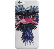 very angry ostrich iPhone Case/Skin