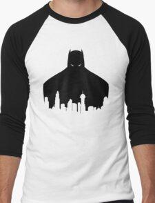 DC - Gotham Black Men's Baseball ¾ T-Shirt