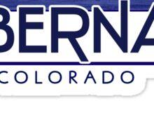 Tabernash Colorado wood mountains Sticker