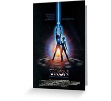 Tron Greeting Card