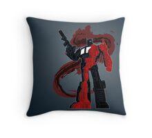 Optimus Prime - Écorché (dark) Throw Pillow