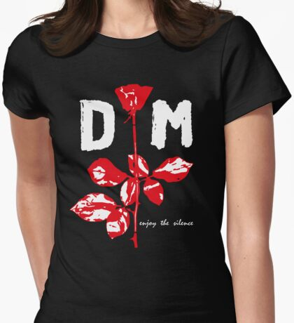 Devotee Rose Womens Fitted T-Shirt