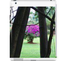 Flowering Tree, Jinja, Uganda iPad Case/Skin