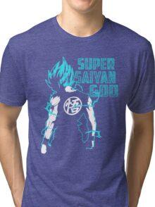 Super SaiYan Tri-blend T-Shirt