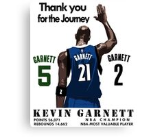 Garnet retire Canvas Print