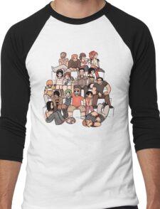 Everybody in the stairs Men's Baseball ¾ T-Shirt
