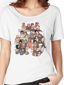 Scott Pilgrim characters Women's Relaxed Fit T-Shirt