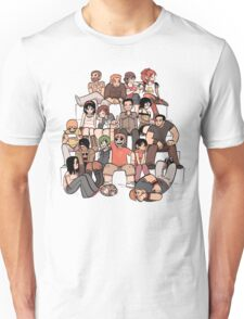 Everybody in the stairs Unisex T-Shirt