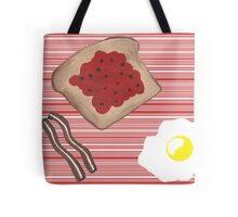 Breakfast First Tote Bag