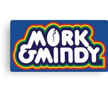 Mork & Mindy Canvas Print