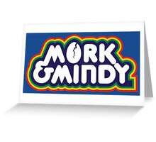 Mork & Mindy Greeting Card