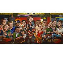Mrs Smith's Great Britain Hotel Pub Trivia Last Supper Photographic Print