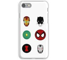 team iron man iPhone Case/Skin