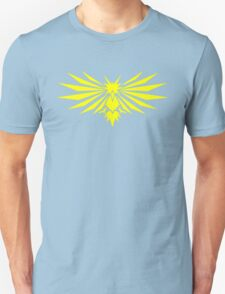 Yellow Bird - Team Instinct - Pokemon Unisex T-Shirt