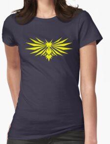 Yellow Bird - Team Instinct - Pokemon Womens Fitted T-Shirt