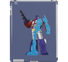 Optimus Prime - Écorché (blueprint v1) iPad Case/Skin