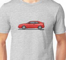 VW Corrado G60 Red Unisex T-Shirt