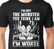 The DragonBall - Vegeta I'm Not Worse Unisex T-Shirt