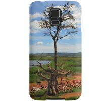 Tree With Storks, Lake Victoria, Uganda Samsung Galaxy Case/Skin