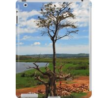 Tree With Storks, Lake Victoria, Uganda iPad Case/Skin