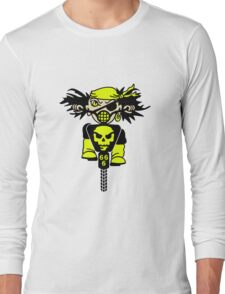 BMX Biker Pirate VRS2 Long Sleeve T-Shirt