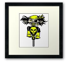 BMX Biker Pirate VRS2 Framed Print