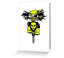 BMX Biker Pirate VRS2 Greeting Card