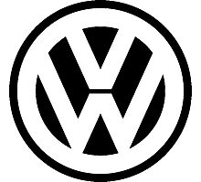 VW Logo Photographic Print