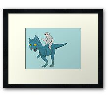 To Victory Framed Print