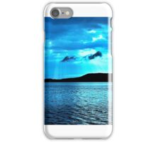 Blue Sunrise waterscape. Gosford. Photo Art. iPhone Case/Skin